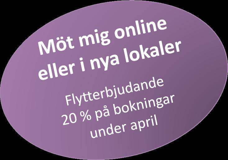 Flytterbjudande online och nya lokaler